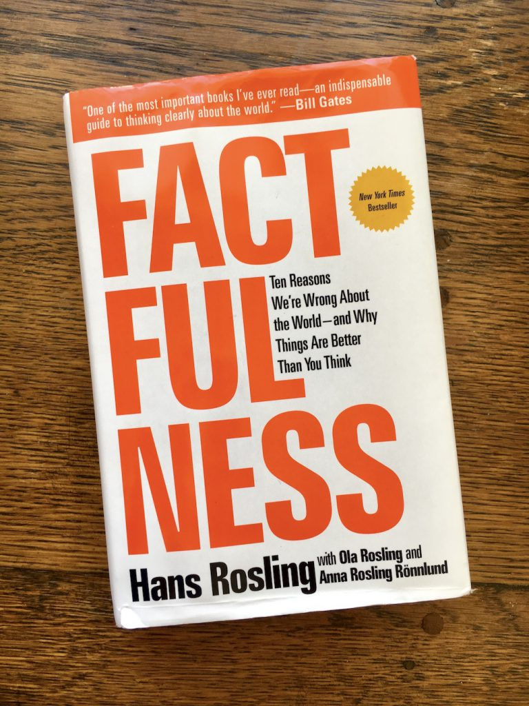 Factfullness by Anna Rosling Rönnlund, Hans Rosling, and Ola Rosling