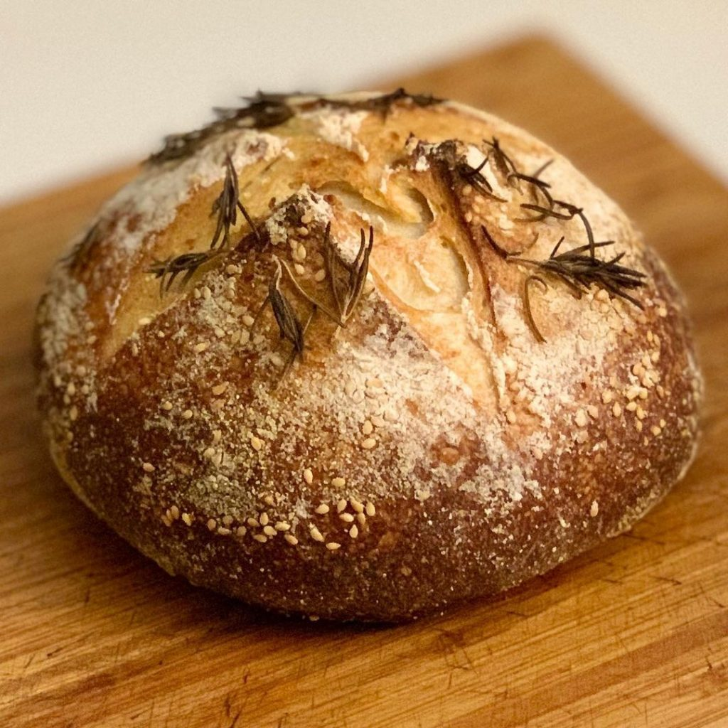 Bread No. 5 turned out even better than Mambo No. 5 ... har har!